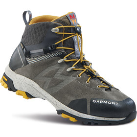 Garmont G-Trail Mid GTX Hiking Boots Men taupe/dark yellow